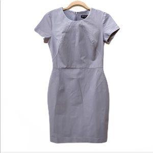 Banana Republic Petite Gray Short Sleeve Dress 6P